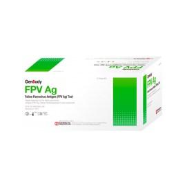 Prueba rápida de panleucopenia felina Genbody FPV Ag, caja de 10 unidades