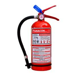 Extintor de polvo químico seco tipo ABC de 2,5Kg