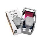 Ribbon Zebra color YMCPKO para impresión de credenciales en PVC