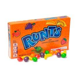 Caramelos duros y crujientes Runts en forma de frutas
