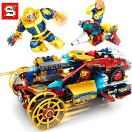 Juego de construcción NO. 7014 – Ironman Vs Thanos