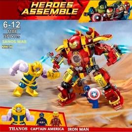 Juego de construcción NO. SY1108 – Avengers Ironman Vs Thanos