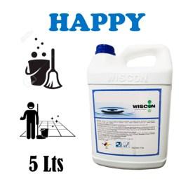 Detergente limpiador y aromatizante de pisos Wiscon HAPPY CITRUS