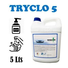 Jabón liquido antibacterial de manos Wiscon TRYCLO 5