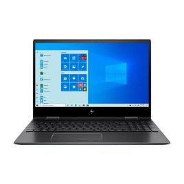 "Laptop HP R5 – Pantalla táctil 15.6"" (AMD Ryzen 5-4500U, 8GB RAM, 256GB HDD, Windows 10 Home, color negro, teclado americano)"