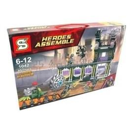 Juego de construcción NO. 1042 – Avengers Pantera Negra