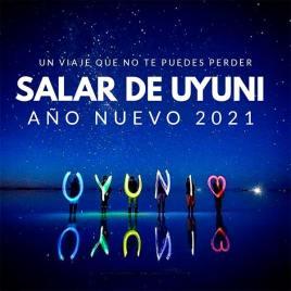 Año nuevo 2021 Salar de Uyuni, 2 días