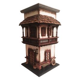 Esquinero colonial hecho a mano en madera