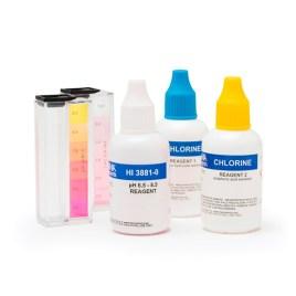 Test kit Hanna Instruments de cloro libre y PH