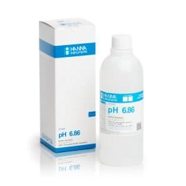 Solución Hanna Instruments de Ph 6.86, 500ml