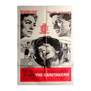 Afiche histórico original THE CARETAKERS