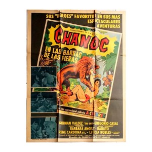 Afiche histórico original CHANOC