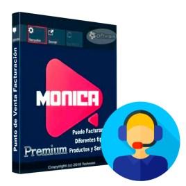 Soporte técnico remoto para software MONICA