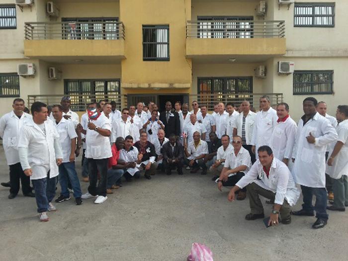 brigada medica  liberia