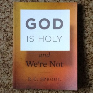 Image result for God is Holy and We're Not by R.C.Sproul book