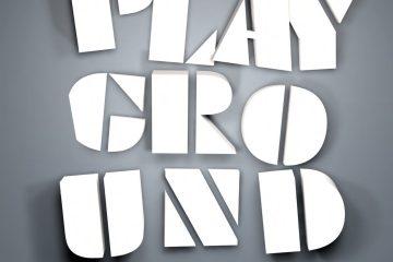 Playground 3d title