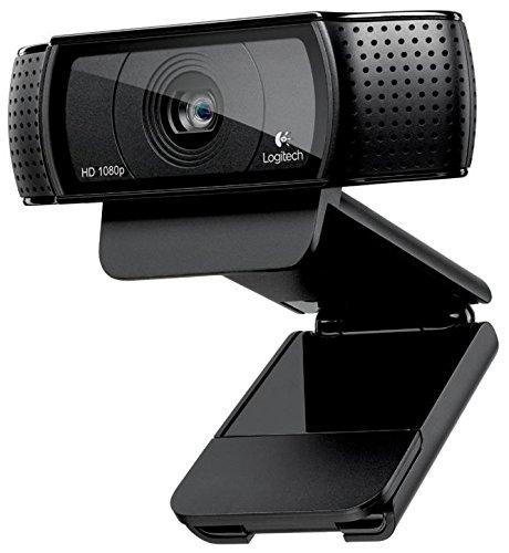 Logitech 960-000764 Cámara Web C920, USB, 1920 x 1080 Pixeles, color Negro - VendeTodito