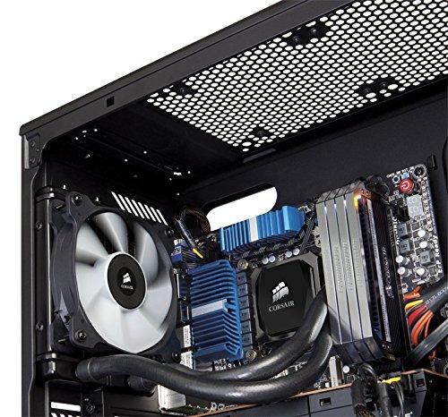 Corsair Hydro Series - Sistema de enfriamiento de alto rendimiento para procesador, H60 ,Negro - VendeTodito