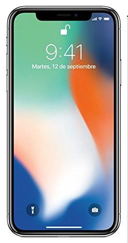 """Apple Iph X-64Si Smartphone iPhone X 5.8"""", color Plata. Desbloqueado - VendeTodito"""