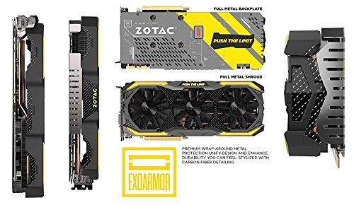 Zotac ZT-P10710B-10P Tarjeta gráfica NVIDIA, GeForce GTX 1070, 1607 MHz, 1683 MHz, 8 GB, GDDR5 - VendeTodito