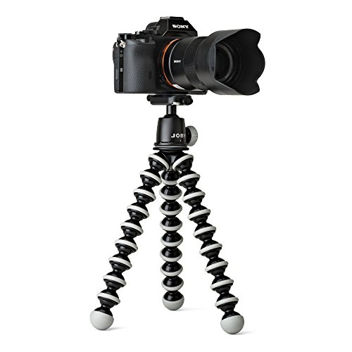 JOBY GorillaPod SLR Zoom. Flexible Tripod with Ballhead Bundle for DSLR and Mirrorless Cameras Up To 3kg. (6.6lbs). - VendeTodito