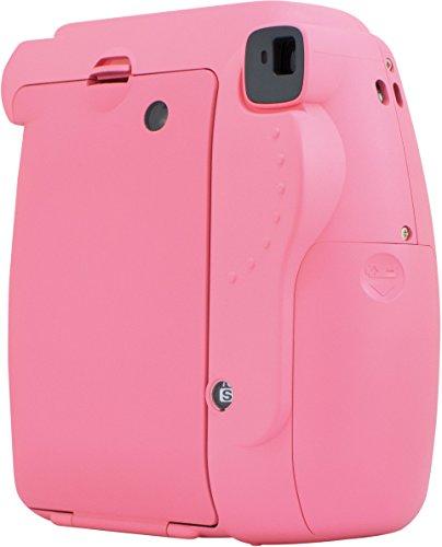 Fujifilm Cámara Instantánea Instax Mini 9, color Rosa Flamingo - VendeTodito