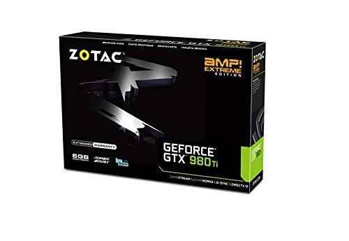 Zotac ZT-90505-10P Tarjeta Video NVIDIA GeForce GTX 980Ti 6GB GDDR5, PCI Express 3.0, HDMI, DVI, DisplayPort - VendeTodito