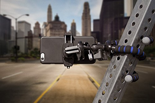 Arkon iPhone Tripod Mount for iPhone 6S Plus 6 Plus iPhone 6S 6 5S Galaxy Note 5 4 S6 S5 Retail Black - VendeTodito