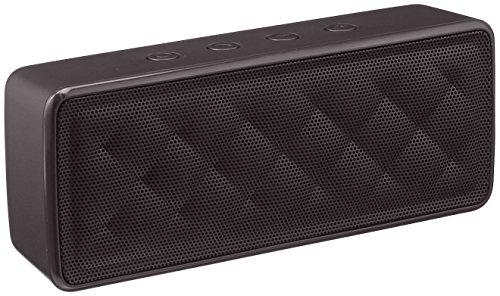 AmazonBasics - Altavoz portátil Bluetooth, color negro - VendeTodito