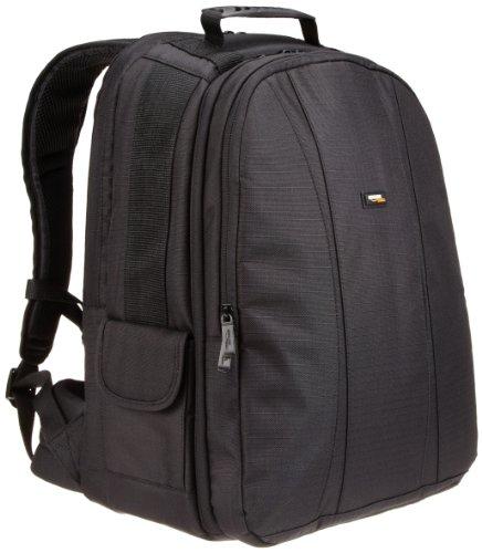 AmazonBasics Mochila para cámara DSLR/Reflex y laptop - interior gris - VendeTodito