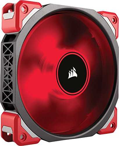 Corsair ML120 Ventilador para Gabinete, color Rojo - VendeTodito