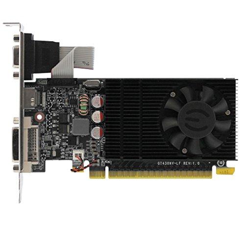EVGA 02G-P3-2732-KR GeForce GT 730 Tarjeta gráfica de Bajo Perfil 1024MB DDR3, 128-bit, PCI Express 3.0, DVI, HDMI y VGA - VendeTodito