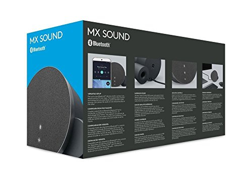 Logitech MX Sound Bocina para PC, Bluetooth, color Negro - VendeTodito