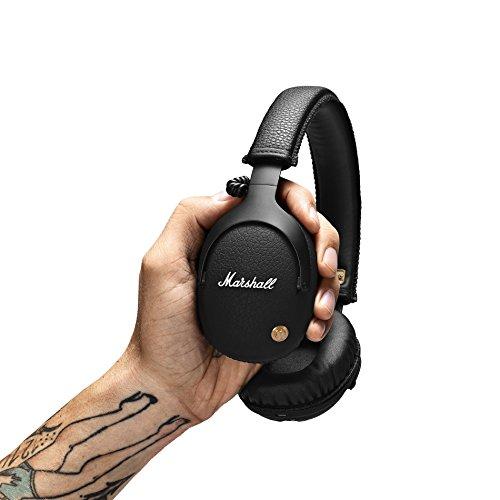 Mars Monitor Bluetooth Diadema Audífono Wired/Bluetooth Negro Audífono para móvil - Audífonos (Audífono, Diadema, Negro, Wired/Bluetooth, Bluetooth / 3.5mm, Circumaural) - VendeTodito