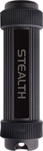 Corsair CMFSS3B-64GB 64GB USB 3.0 Negro Unidad Flash USB - Memoria USB (USB 3.0 (3.1 Gen 1), Type-A, Tapa, Negro, Aluminio, Resistente a Golpes, Resistente al Agua) - VendeTodito
