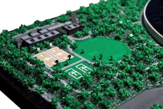 Alguien recreó el nuevo campus de Apple con 85,000 ladrillos LEGO y es excelente