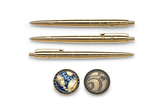 El bolígrafo espacial se convirtió en el bolígrafo espacial hace 50 años.
