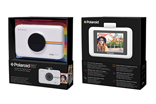 Polaroid Camara Digital Snap Touch Instant Print con Pantalla LCD (Negro) con tecnologia Zink Zero Ink - VendeTodito