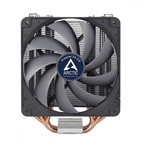 ARCTIC Freezer 33 CO Procesador Enfriador - Ventilador de PC (Procesador, Enfriador, Zócalo AM4, LGA 1151 (Zócalo H4), LGA 2011-v3 (Socket R), Intel® Celeron®, Intel® Pentium®, AMD Ryzen, 12 cm, 1350 RPM) - VendeTodito