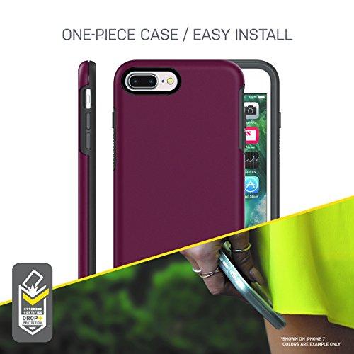 OtterBox SYMMETRY CLEAR SERIES para iPhone 8 Plus & Iphone 7 Plus (solamente) - Empaque Retail - SALTWATER TAFFY ( rosa / azul) - VendeTodito