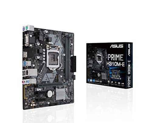 ASUS PRIME H310M-E Motherboard LGA1151 DDR4 HDMI VGA Micro ATX