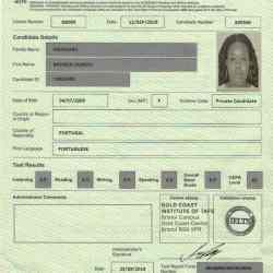 monica certificate