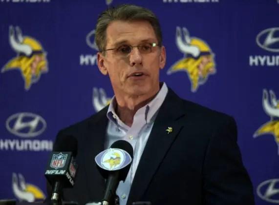 Minnesota Vikings GM, Rick Spielman