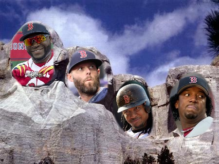 Red Sox Mount Rushmore