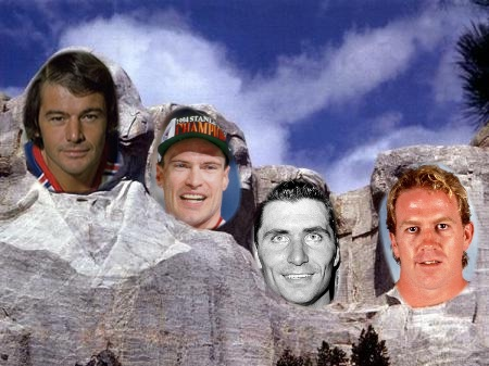 Rangers Mount Rushmore
