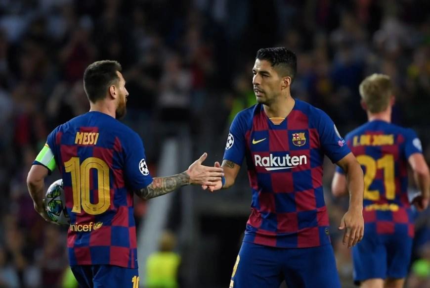 Suarez and Messi Drama