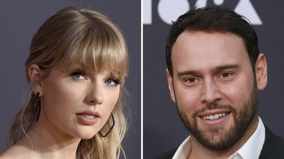 Scooter Braun, Taylor Swift