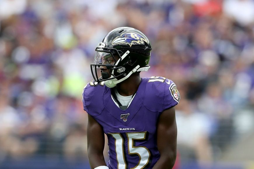 Marquise Brown is Overrated