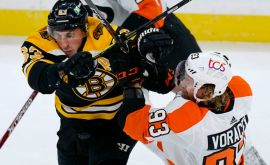 Flyers 1 Bruins 6