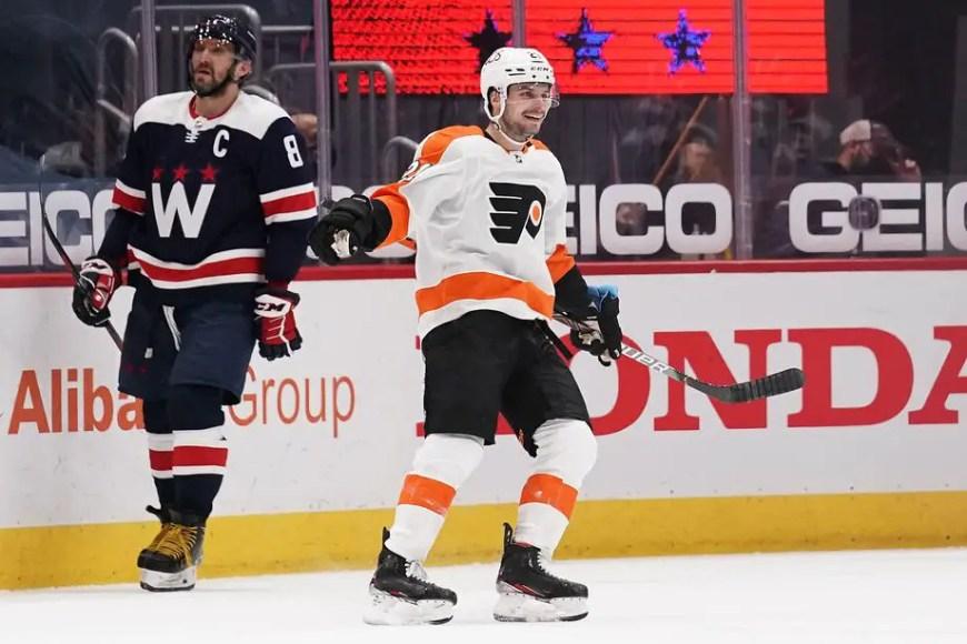 Flyers 7, Capitals 4